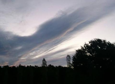 Ciel avant la pluie