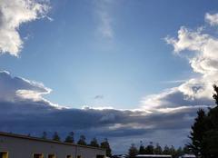 Ciel Montivilliers 76290 Ciel bleu et nuages noirs