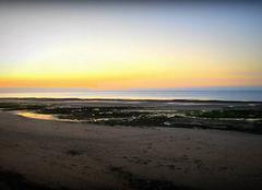 Ciel Luc-sur-Mer 14530 Soleil couchant