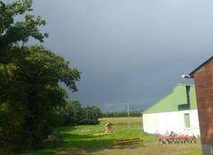 Pluie Caulnes 22350 Orage