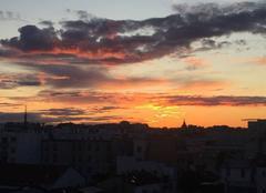Ciel Paris-13 75013 Le soleil se couche