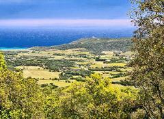 Ciel Ramatuelle 83350 Une vue de Pampelonne et de Cap Camarat