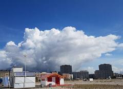 Nuages Le Havre 76600 Zone perturbée