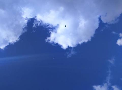 Vol de nuages