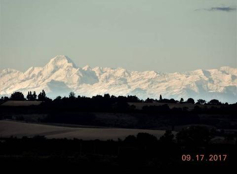 Blanches, les Pyrénées.