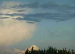 Ciel Lesquin 59810 Hier soir au coucher du soleil LESQUIN