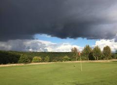 Nuages Evreux 27000 Vue du trou 6 golf Evreux