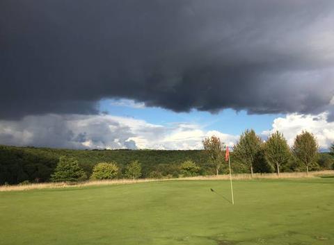 Vue du trou 6 golf Evreux