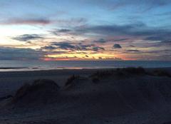 Ciel Le Touquet-Paris-Plage 62520 Coucher de soleil sur la mer