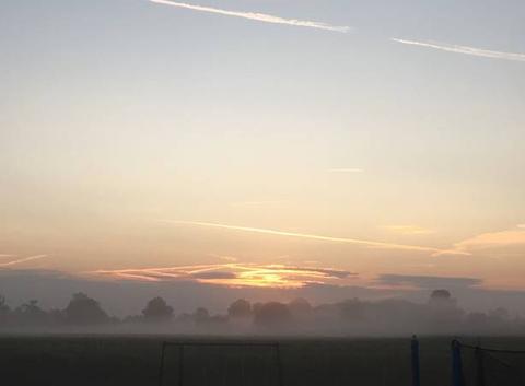Premier brouillard de la saison