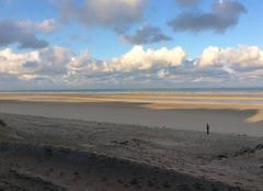 Ciel Le Touquet-Paris-Plage 62520 Lever de soleil sur la plage