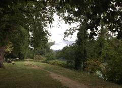 Faune/Flore Romans-sur-Isere 26100 Berges d'Isère sous ciel gris ce matin