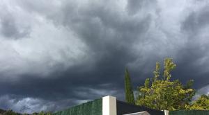 Ciel Montauroux 83440 Orage a l'horizon