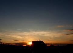 Ciel Niort 79000 Coucher de soleil de ce 19 septembre 2017