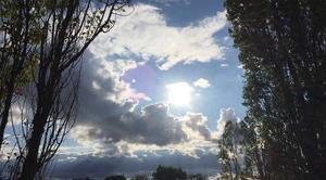 Ciel Mours-Saint-Eusebe 26540 Ouverture sur le soleil en fin d'après-midi