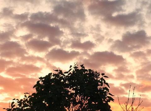 Coucher de soleil sur Ermont