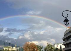 Ciel Saint-Cloud 92210 Après la pluie, le beau temps