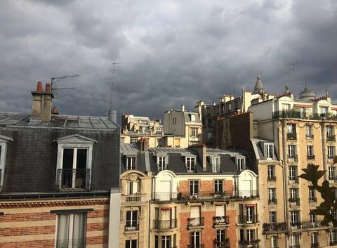 Montmartre avant l'ouvrage.