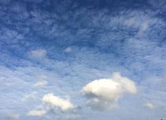 Nuages Plouha 22580 Des moutons se promènent dans le ciel de Plouha