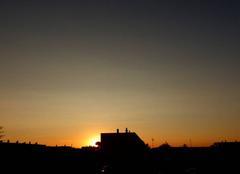 Ciel Niort 79000 Coucher de soleil de ce 20 septembre 2017
