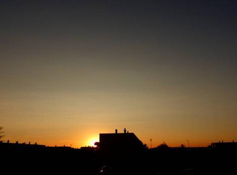 Coucher de soleil de ce 20 septembre 2017