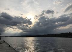Ciel Perth Fin de journée au bord du lac