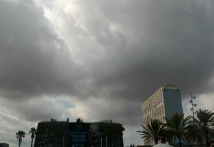 Nuages Barcelone 08001 Le temps se couvre