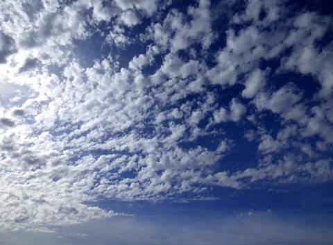 Ciel peu nuageux
