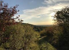 Ciel Vienne-en-Arthies 95510 Soir lumineux dans les collines du Vexin