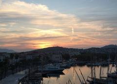 Ciel Sanary-sur-Mer 83110 Lever de soleil port de sanary