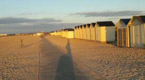 Mer Ouistreham 14150 Luminosite sur plage normandie