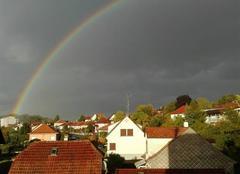 Ciel Didenheim 68350 Arc en ciel