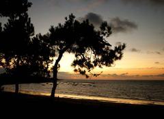 Ciel La Plaine-sur-Mer 44770 Coucher de soleil