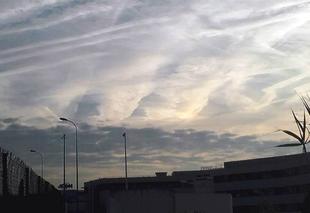 Nuages La Seyne-sur-Mer 83500 Charivari celeste..