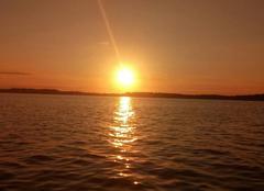 Mer Marignane 13700 Couché de soleil
