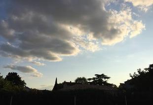 Ciel Mours-Saint-Eusebe 26540 Ciel de soirée