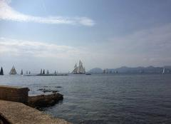 Mer Cannes 06400 Course de voile