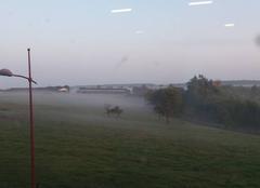Brouillard Petersbach 67290 Ce matin en Alsace.