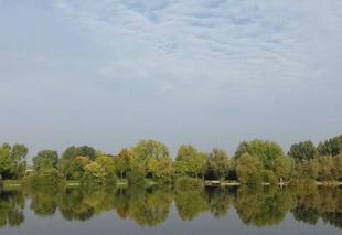 Ciel Albert 80300 Journée plutôt ensoleillée sur les étangs du Vélodrome ...