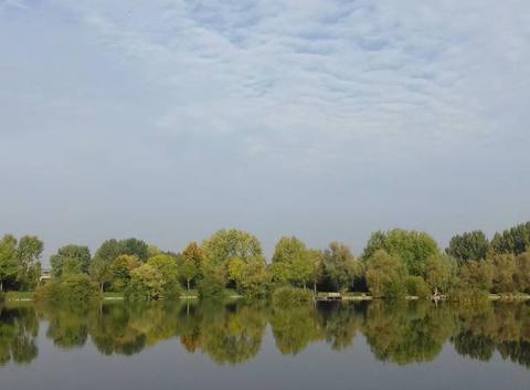 Journée plutôt ensoleillée sur les étangs du Vélodrome ...