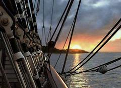 Mer Ramatuelle 83350 L'heure dorée dans le Golfe de Saint Tropez
