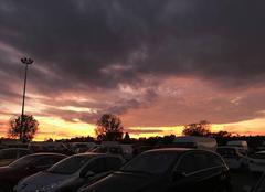 Ciel Metz 57070 Coucher de soleil