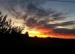 Ciel Virac 81640 Levé du soleil à virac