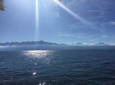 Beau temps sur le lac Leman !