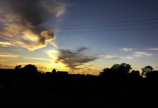 Ciel Buchy 76750 Forme des nuages