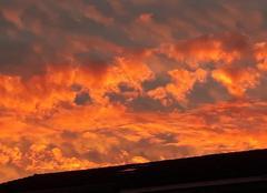 Ciel Saint-Lupicin 39170 Couché de soleil