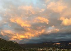 Ciel Saint-Etienne-de-Crossey 38960 Ciel d'automne