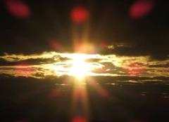 Ciel Strasbourg 67100 Halo solaire