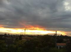 Ciel Bruges 33520 Horizon enflammé