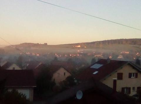Mon matin, ma brume
